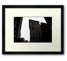 Boston is Gotham Framed Print
