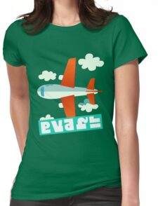 Splatfest Team Planes v.4 Womens Fitted T-Shirt