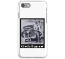 Clyde Barrow iPhone Case/Skin