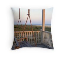 Ocean View at Oak Island Throw Pillow