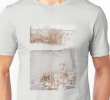 Typha reeds winter season Unisex T-Shirt