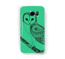 Intricate barn owl Samsung Galaxy Case/Skin