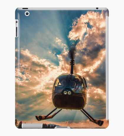 Helicopter iPad Case/Skin