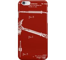 1940 Fireman's Ax and Wrecking Tool Patent iPhone Case/Skin
