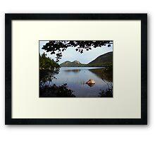 Jordan Pond Framed Print