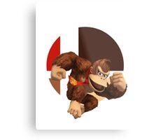 I Main Donkey Kong Metal Print