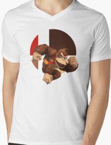 I Main Donkey Kong Mens V-Neck T-Shirt