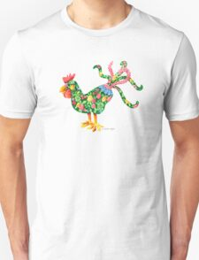 Rooster With Flair T-Shirt