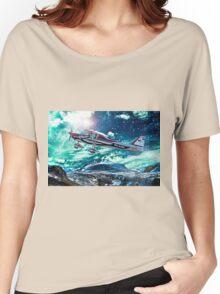 Sport plane Women's Relaxed Fit T-Shirt