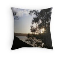 Sunset over Narrabeen Lakes, Sydney Throw Pillow