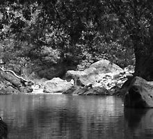 Poza de Rio, River by Guy Tschiderer