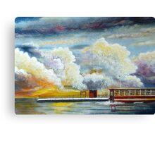 Flooded Train Station (Spirited Away) Canvas Print