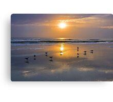 Atlantic Ocean Sunrise Canvas Print