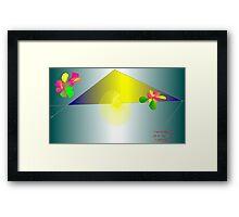 Mottings Framed Print