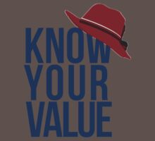 Know Your Value Baby Tee