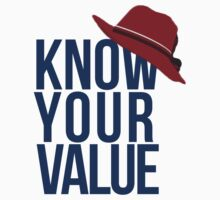 Know Your Value Kids Tee