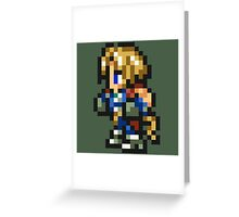 Zidane Tribal sprite - FFRK - Final Fantasy IX (FF9) Greeting Card