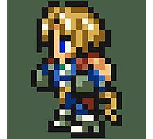 Zidane Tribal sprite - FFRK - Final Fantasy IX (FF9) Photographic Print