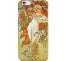 Alphonse Mucha - Spring iPhone Case/Skin