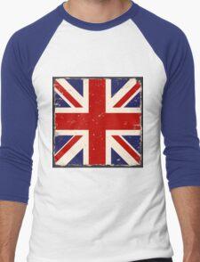 British Flag Men's Baseball ¾ T-Shirt