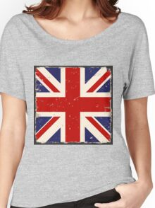 British Flag Women's Relaxed Fit T-Shirt