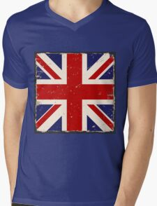 British Flag Mens V-Neck T-Shirt