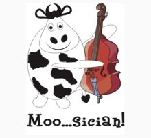 Cow Moo...sician! Kids Clothes