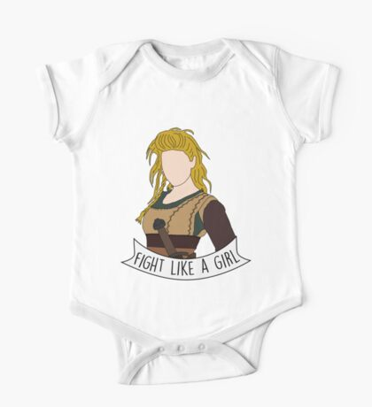 Fight Like Lagertha One Piece - Short Sleeve