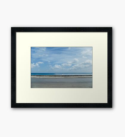 Man in the Middle Framed Print