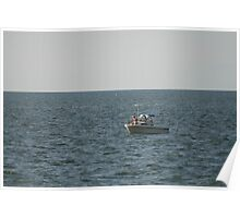 Boating On The Chesapeake Bay Poster
