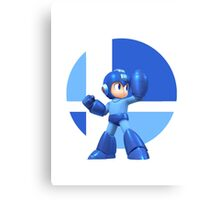 I Main Mega Man Canvas Print