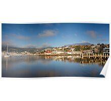 Slipways and Jetties, Battery Point, Tasmania Poster
