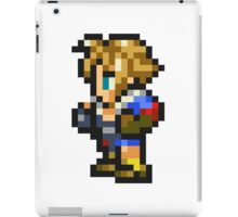 Tidus sprite - FFRK - Final Fantasy X (FF10) iPad Case/Skin