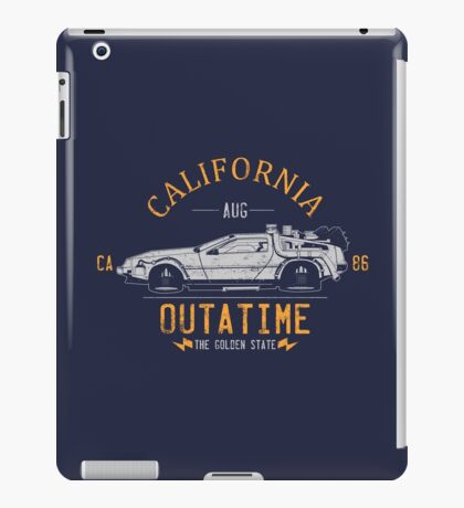 Out A Time iPad Case/Skin