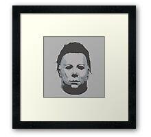 Michael Myers: Halloween Framed Print
