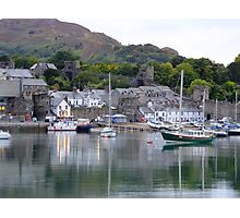 Conwy Quay Photographic Print