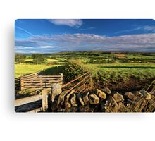 Eskdale North Yorkshire Canvas Print
