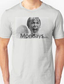 Hitchcock hates mondays. T-Shirt