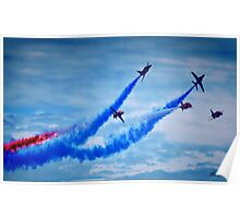 Red Arrows - A Tribute Poster