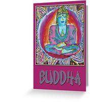 Buddah Greeting Card