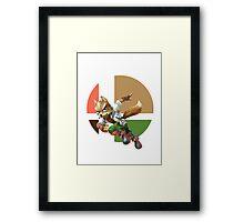 I Main Fox Framed Print
