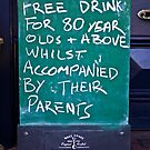 Free Drinks at the Pub by TonyCrehan