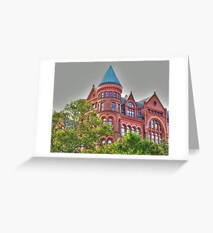 Historic school building in Brooklyn Greeting Card