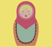 Matryoshka Doll #1 by melissagavin