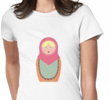Matryoshka Doll #1 Womens Fitted T-Shirt