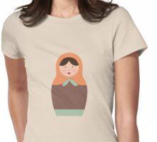 Matryoshka Doll #3 Womens Fitted T-Shirt