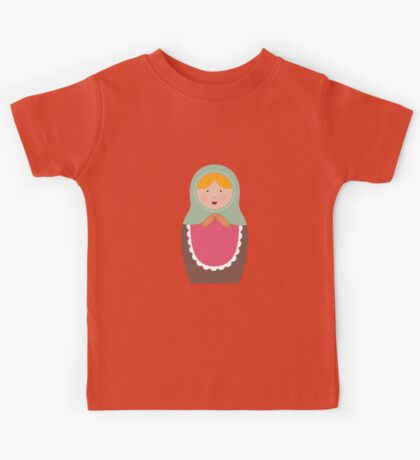 Matryoshka Doll #7 Kids Tee
