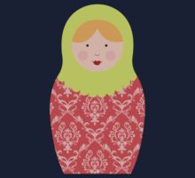 Matryoshka Doll #8 Kids Tee