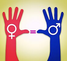 Gender Equality by psychoshadow