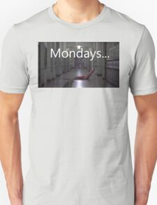 Freddy hates mondays. Unisex T-Shirt